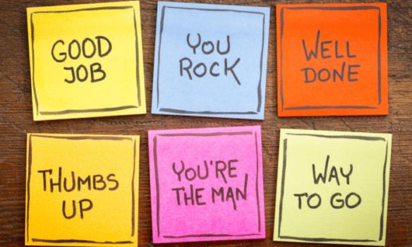 complimenten bureau wat: